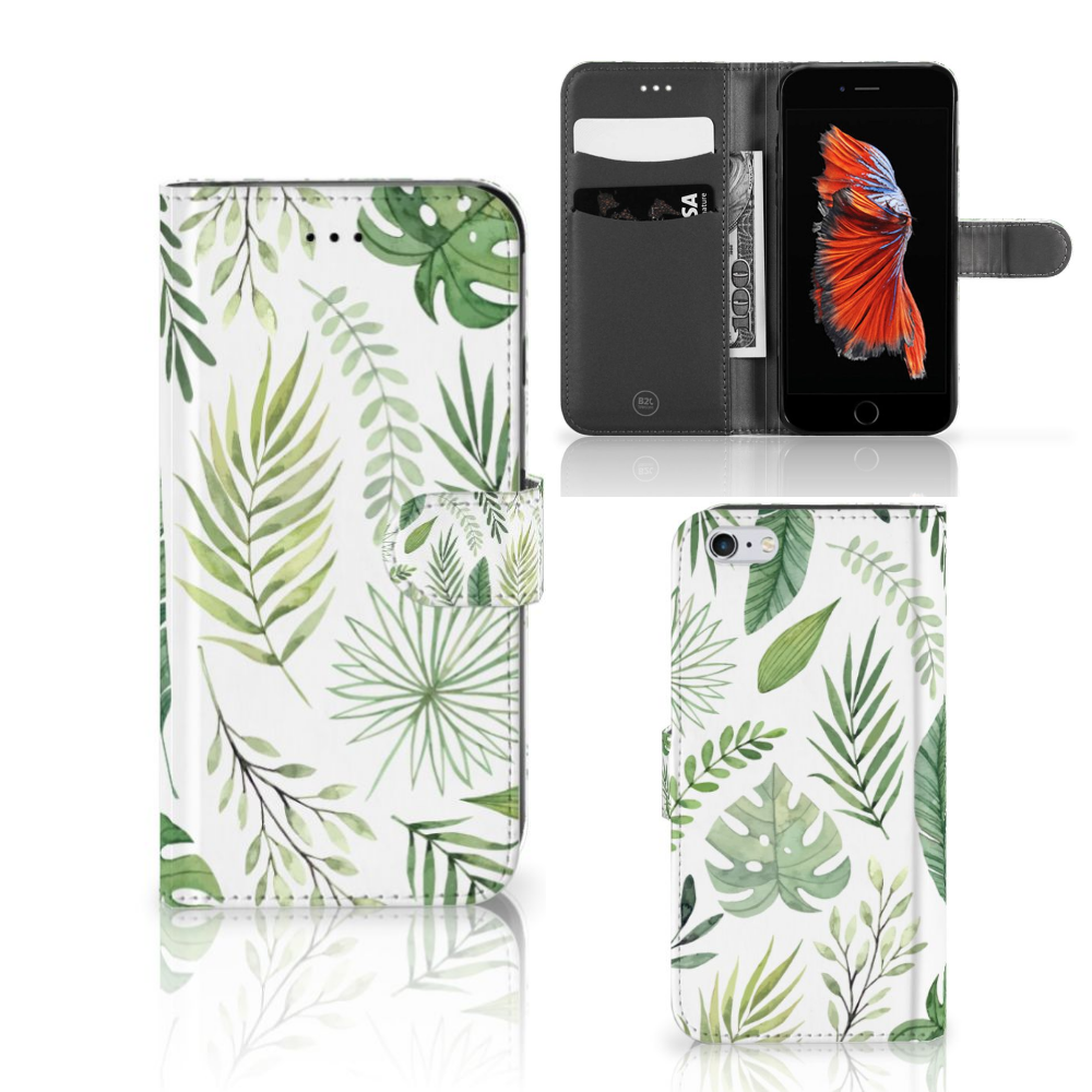 Apple iPhone 6 Plus | 6s Plus Hoesje Leaves