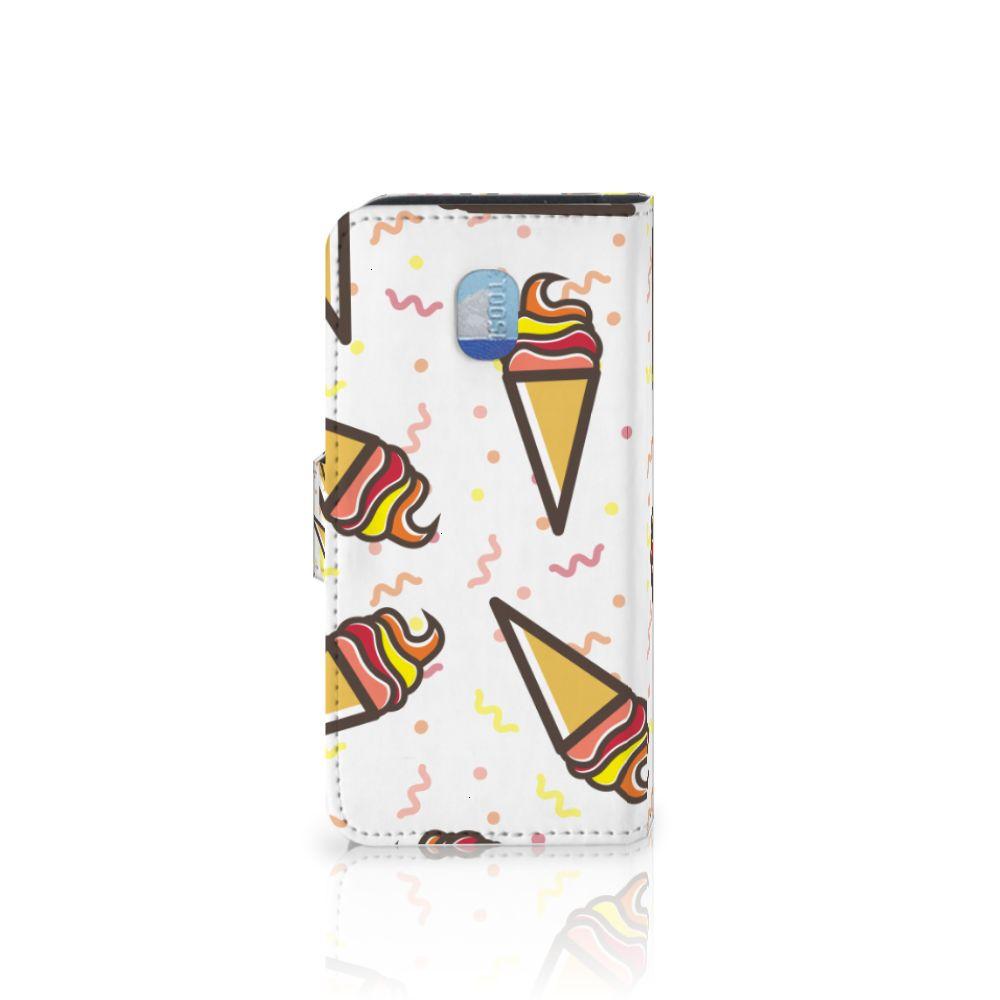Samsung Galaxy J3 (2018) Book Cover Icecream