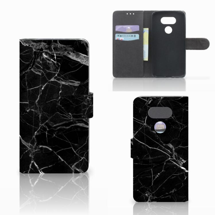 LG G5 Bookcase Marmer Zwart - Origineel Cadeau Vader