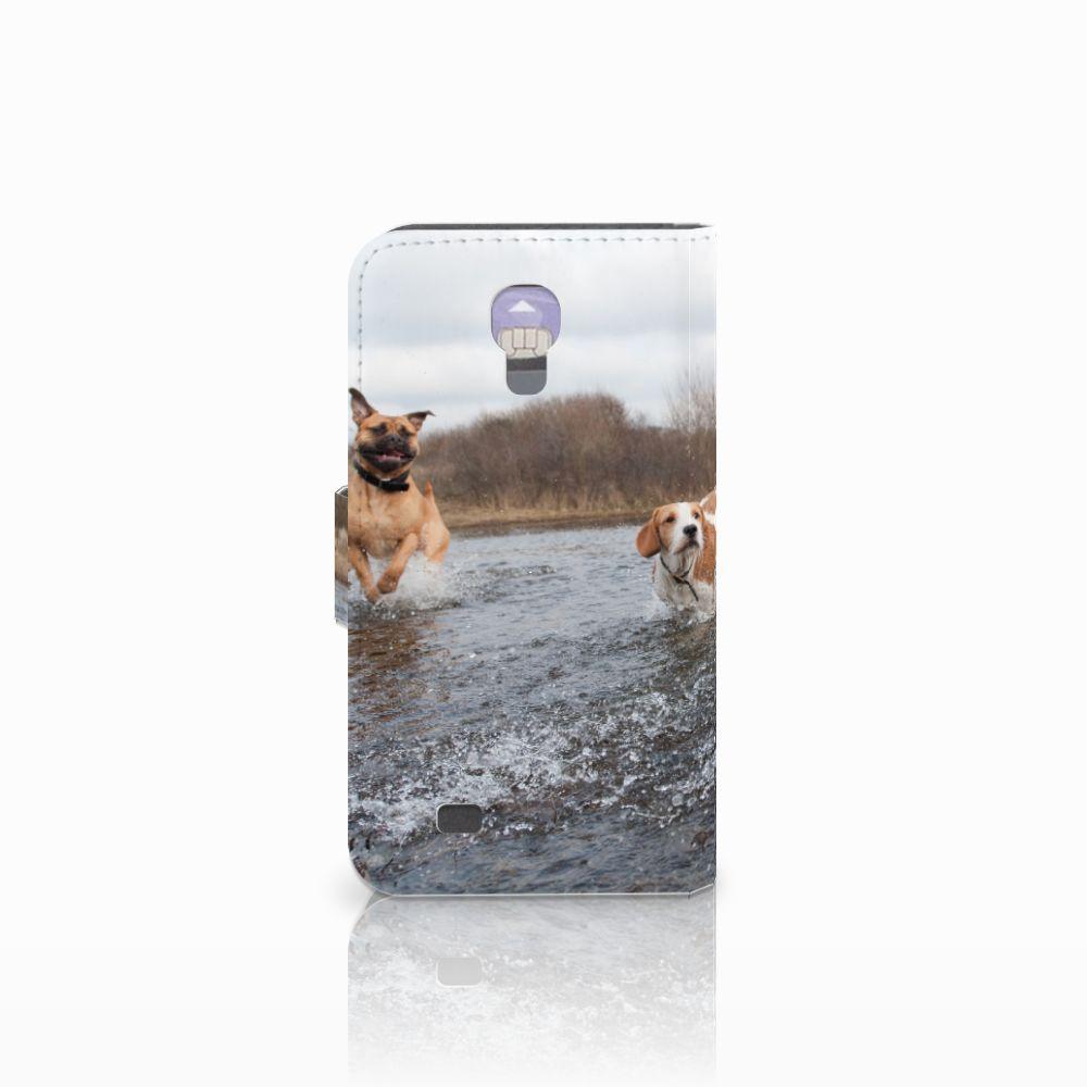 Samsung Galaxy S4 Telefoonhoesje met Pasjes Honden Labrador