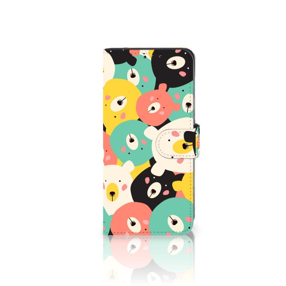 Huawei Mate 20 Lite Uniek Boekhoesje Bears