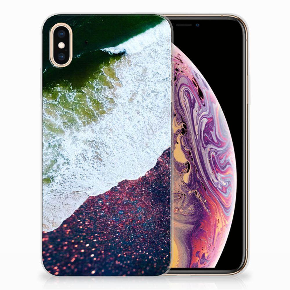 Apple iPhone Xs Max TPU Hoesje Design Sea in Space