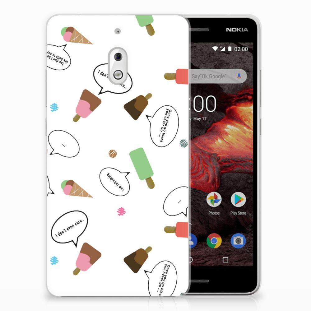 Nokia 2.1 (2018) Siliconen Case IJsjes
