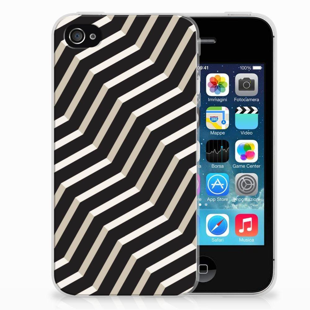 Apple iPhone 4 | 4s TPU Hoesje Design Illusion