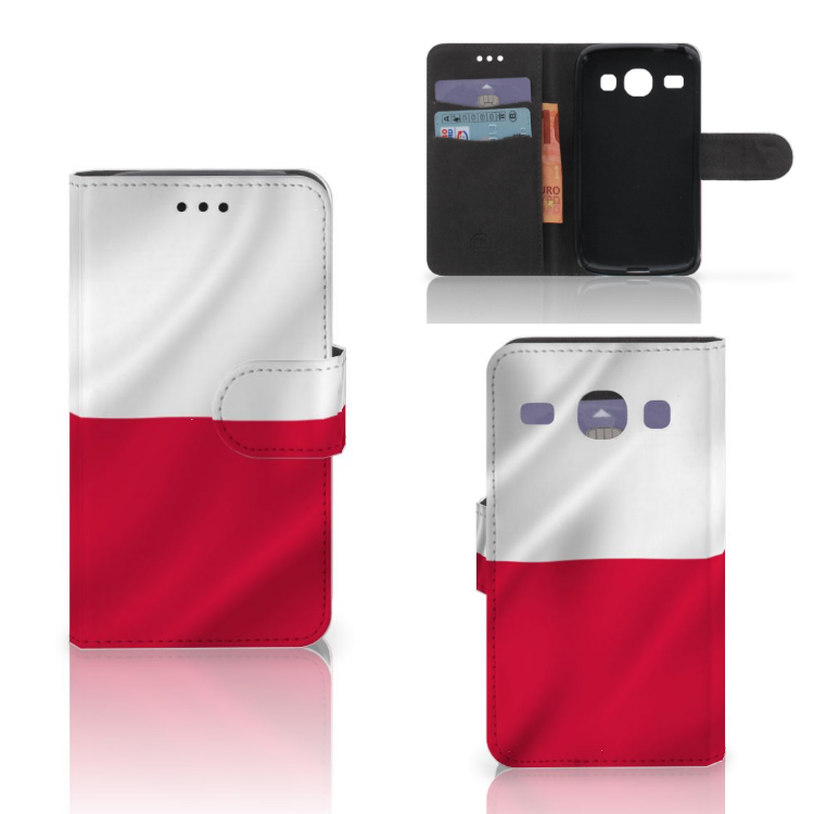 Samsung Galaxy Core i8260 Bookstyle Case Polen