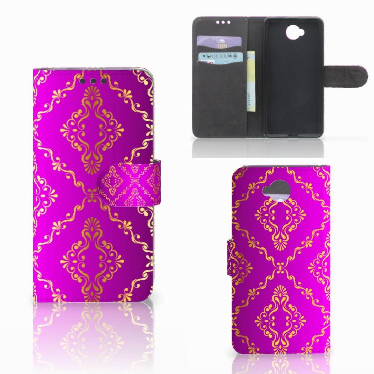 Wallet Case Microsoft Lumia 650 Barok Roze