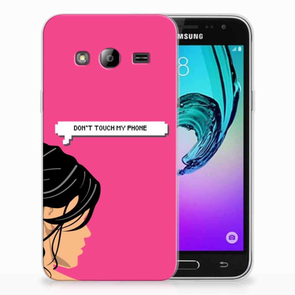 Samsung Galaxy J3 2016 Uniek TPU Hoesje Woman DTMP