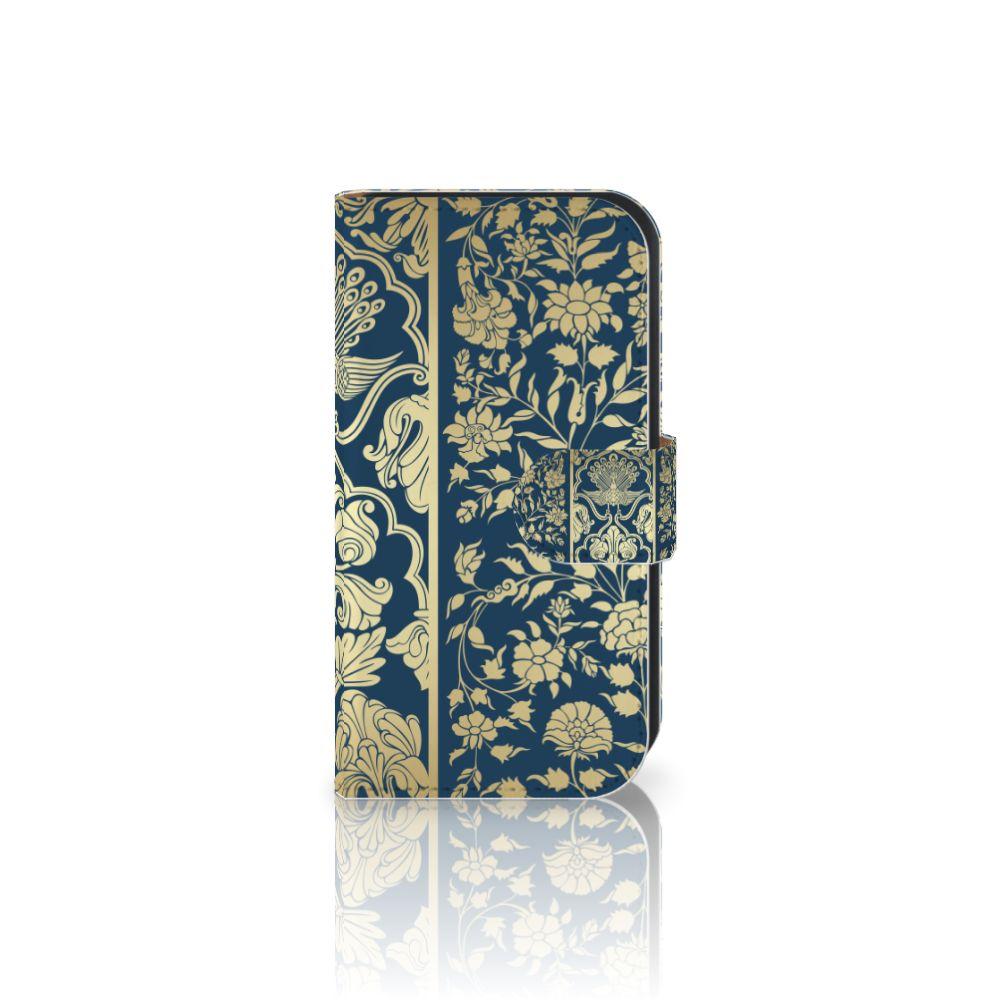 Samsung Galaxy Ace 4 4G (G357-FZ) Boekhoesje Golden Flowers