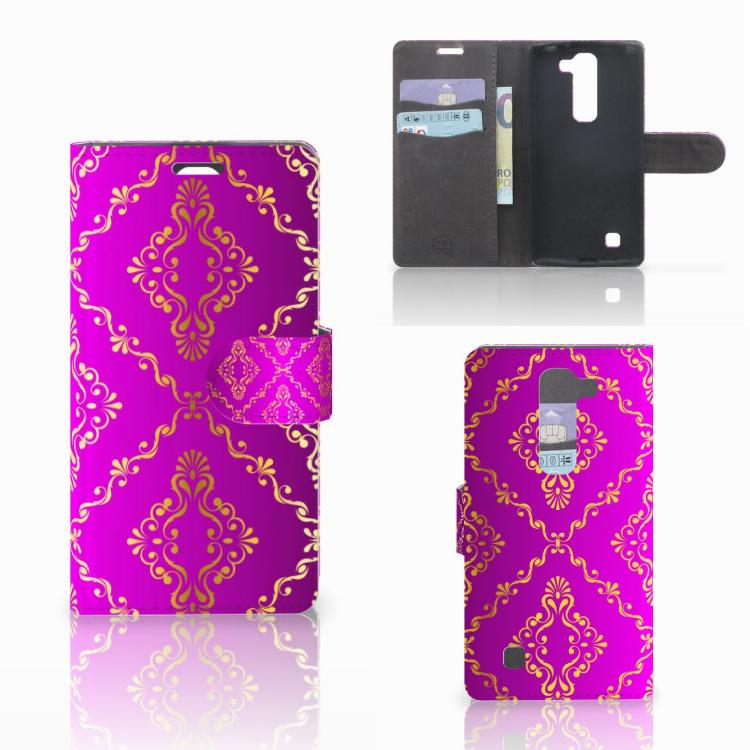 Wallet Case LG Magna | G4C Barok Roze
