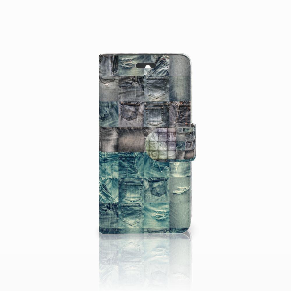 Huawei Ascend Y550 Uniek Boekhoesje Spijkerbroeken