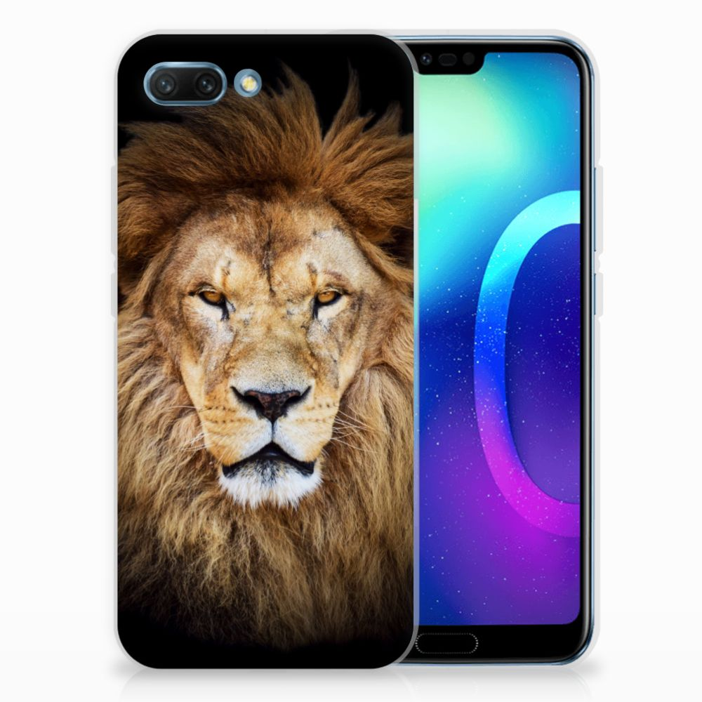 Huawei Honor 10 TPU Hoesje Leeuw