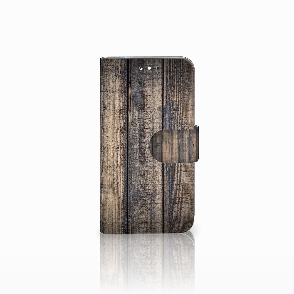 LG G3 S Boekhoesje Design Steigerhout