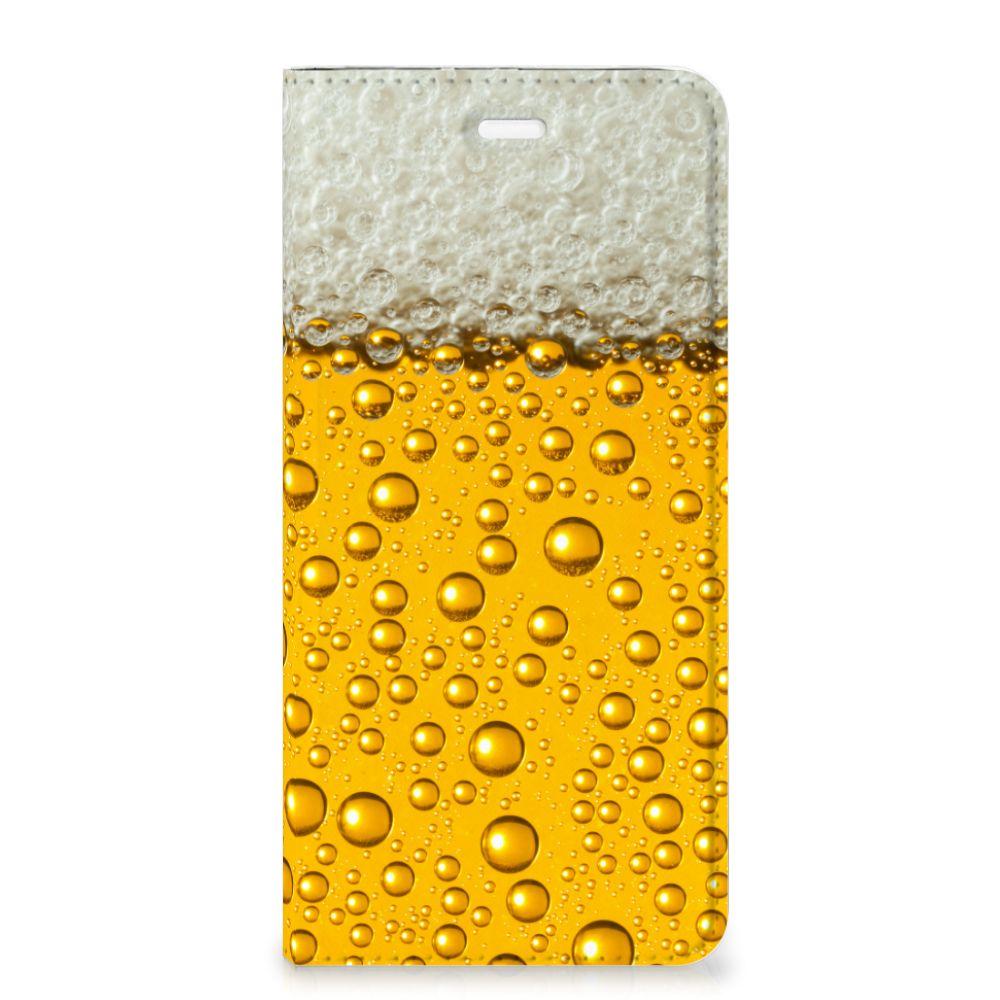 Huawei P10 Plus Flip Style Cover Bier