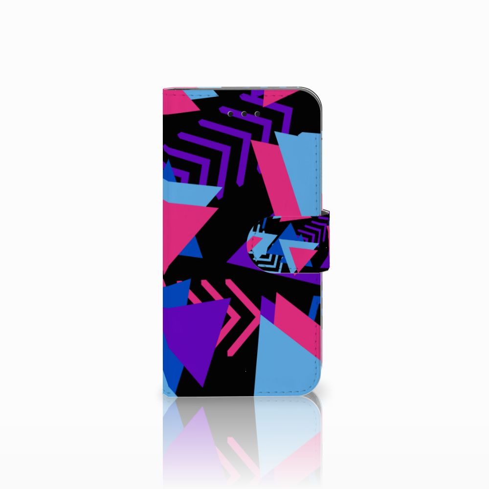 Apple iPhone X | Xs Boekhoesje Design Funky Triangle
