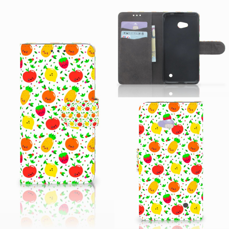 Microsoft Lumia 640 Book Cover Fruits