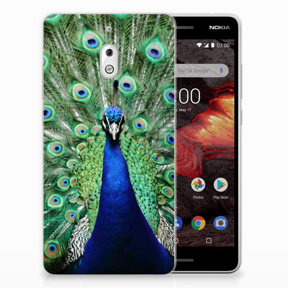 Nokia 2.1 (2018) TPU Hoesje Pauw