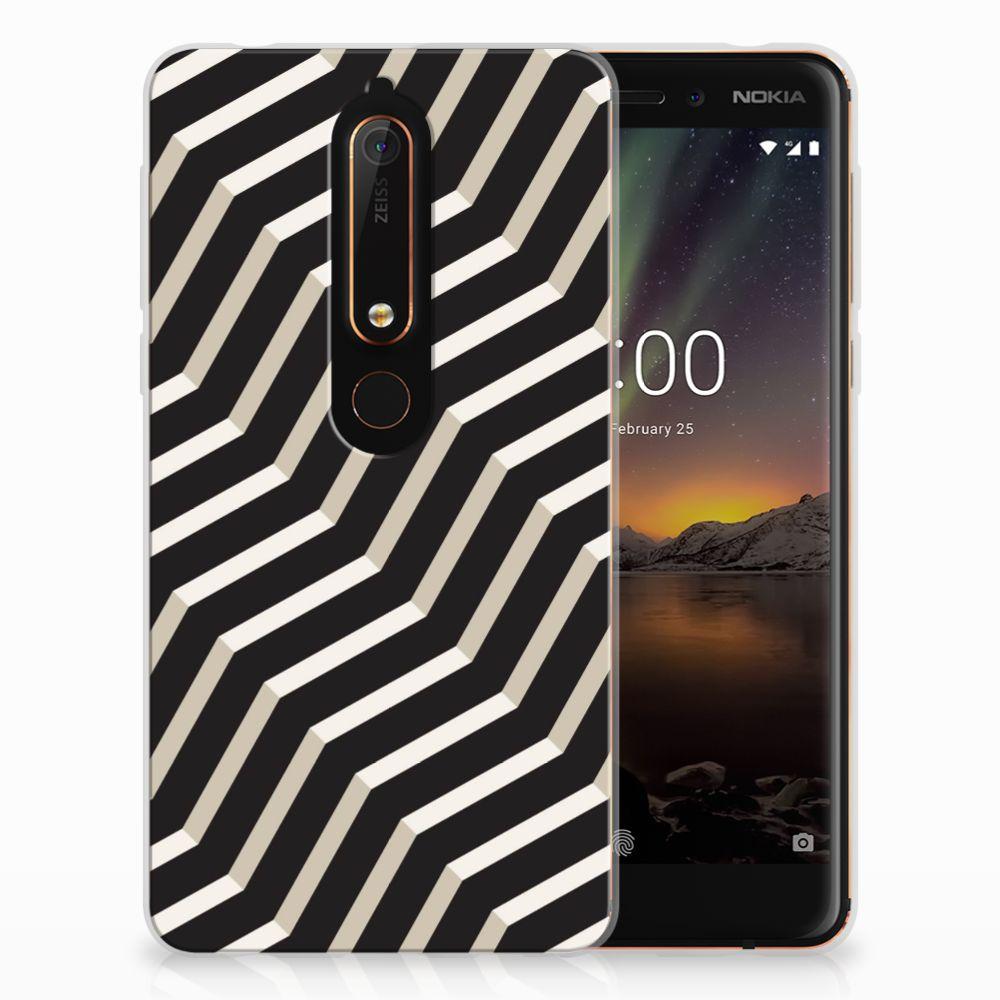 Nokia 6 (2018) TPU Hoesje Illusion