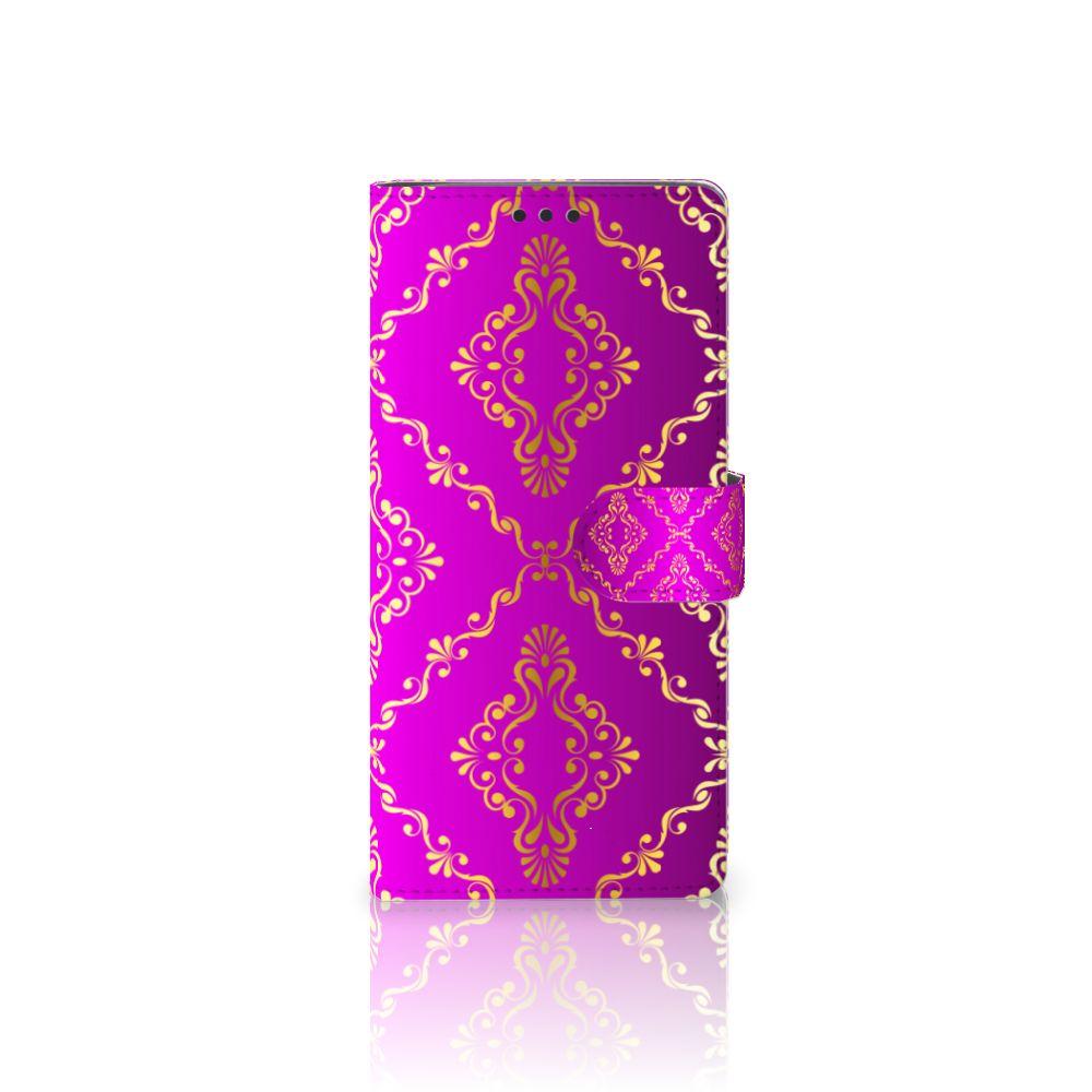 Sony Xperia XA Ultra Uniek Boekhoesje Barok Roze