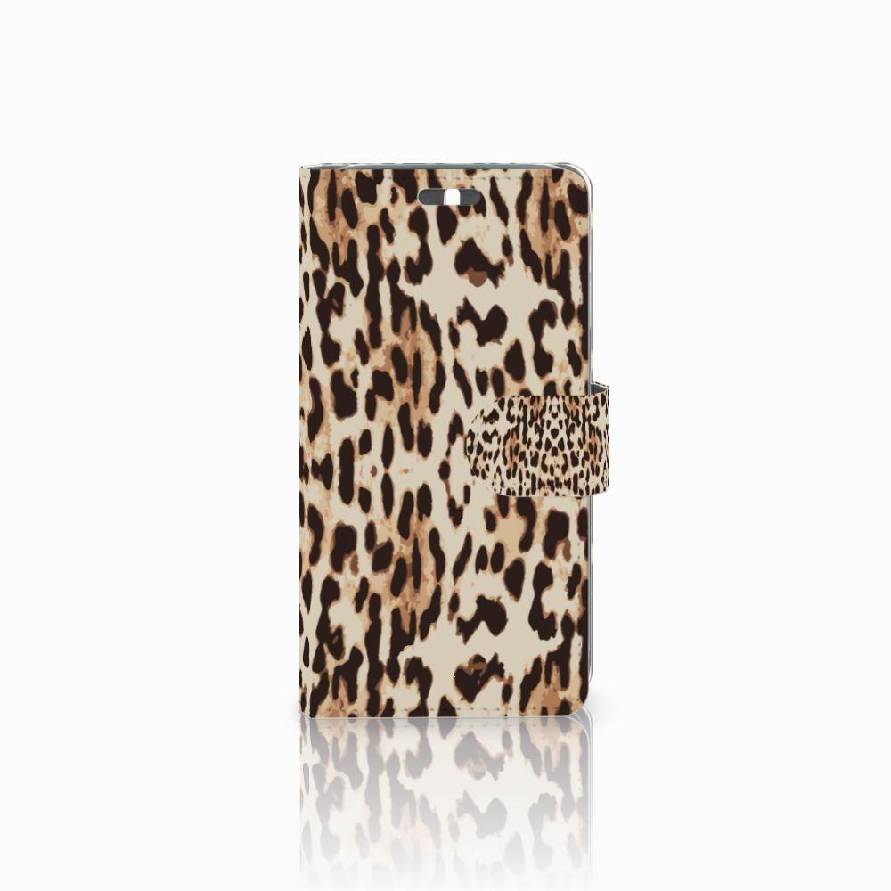 Huawei Y625 Uniek Boekhoesje Leopard