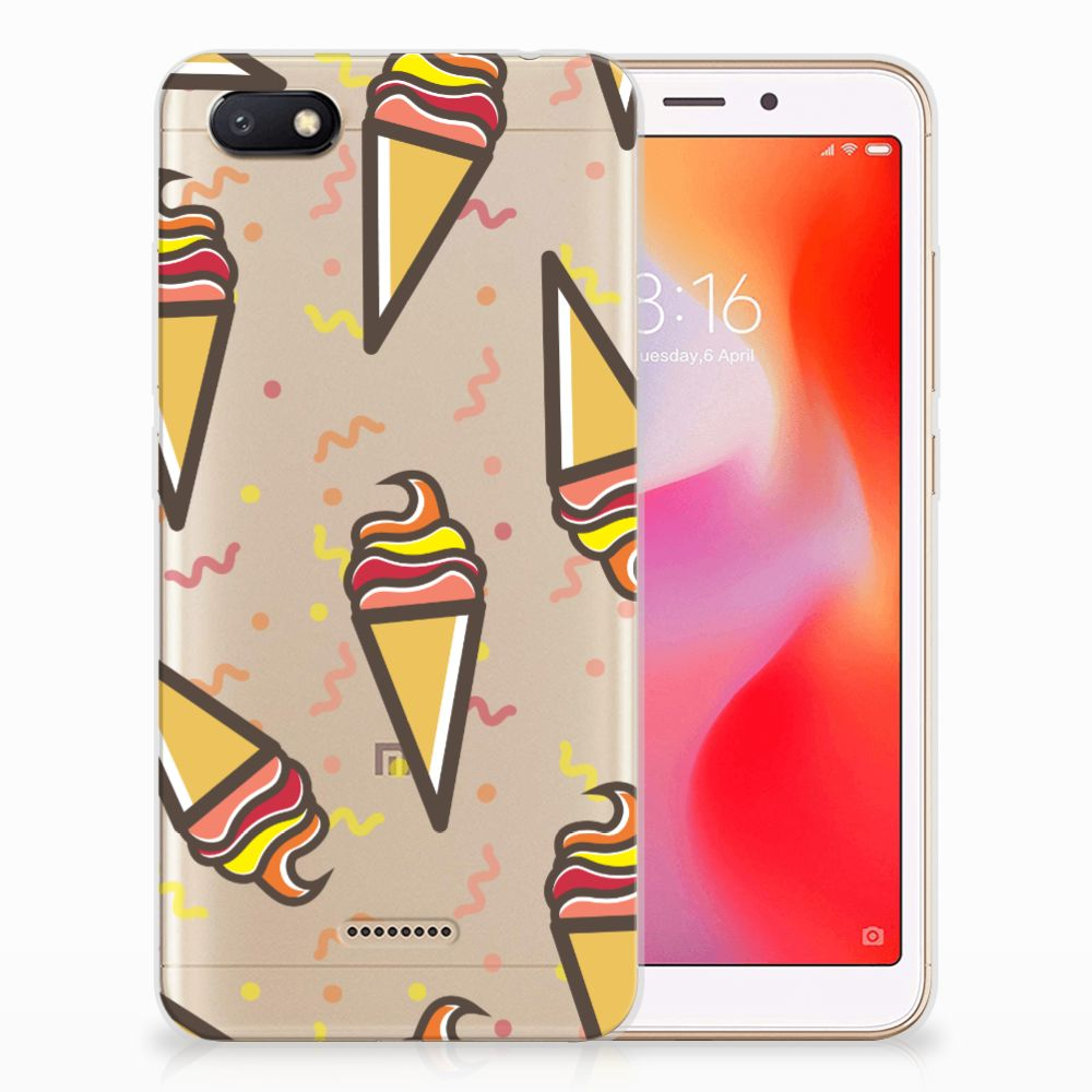 Xiaomi Redmi 6A Siliconen Case Icecream