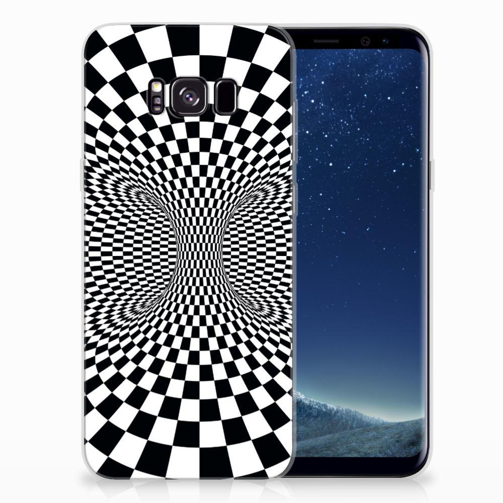 Samsung Galaxy S8 Plus TPU Hoesje Illusie