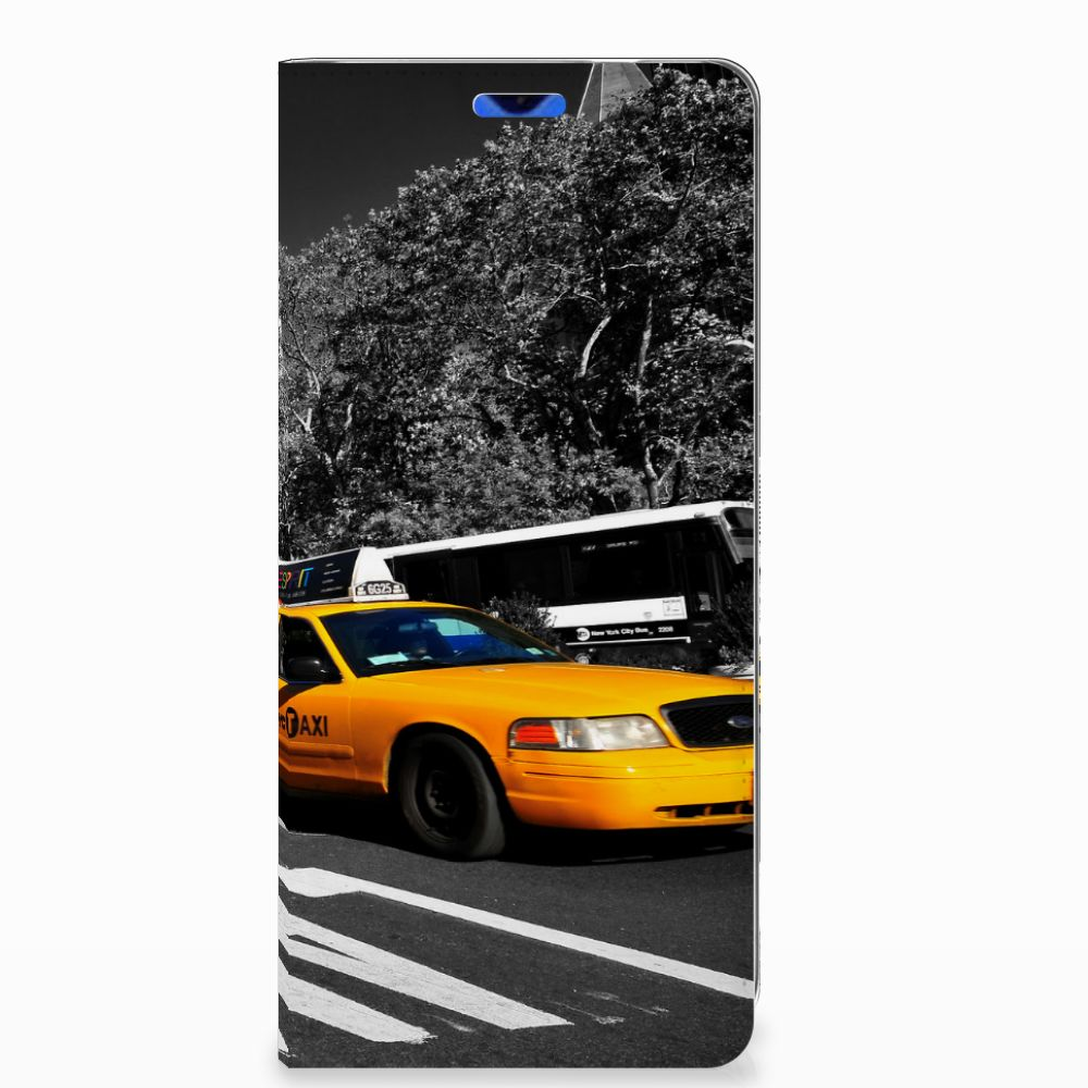 Huawei P30 Pro Book Cover New York Taxi