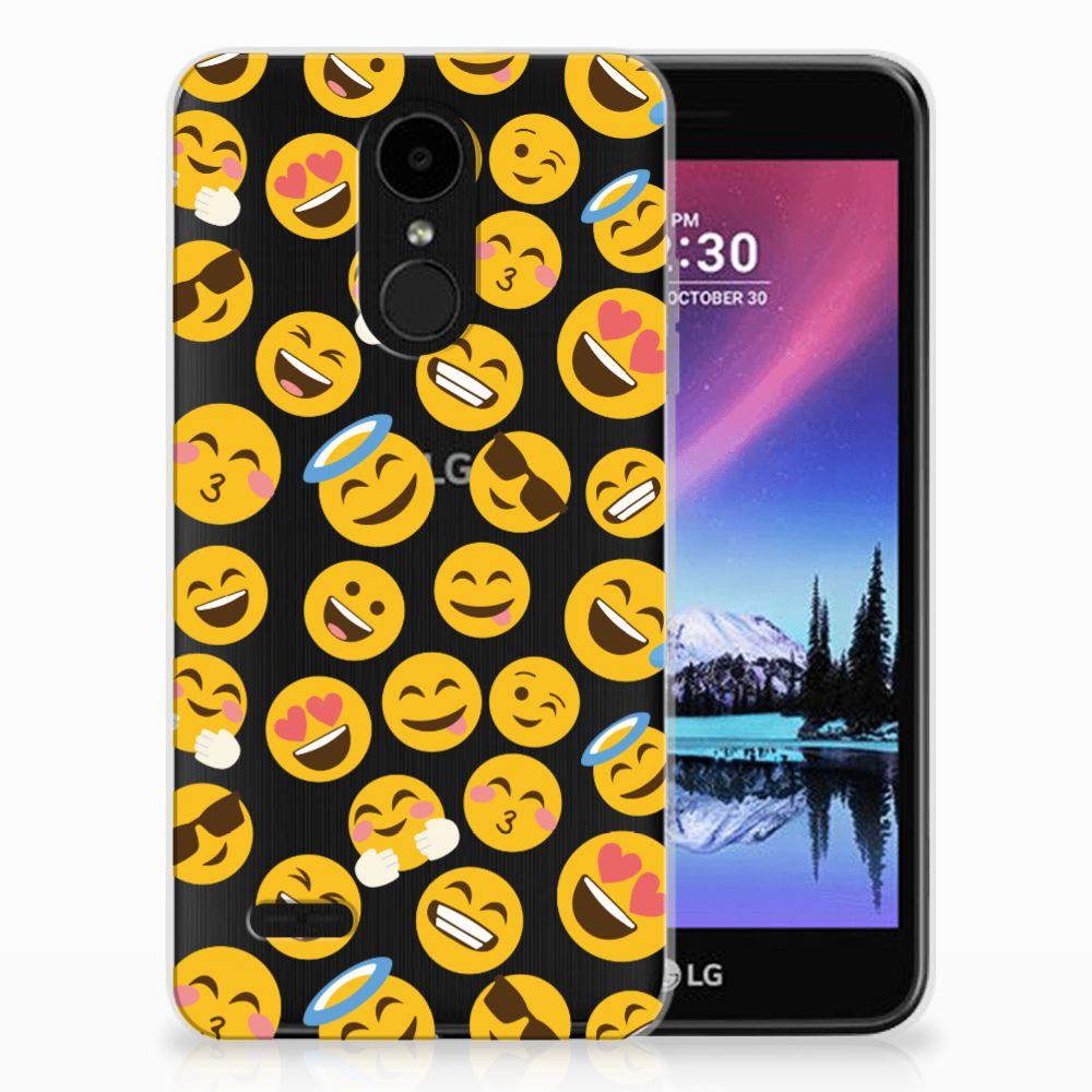 LG K4 (2017) TPU Hoesje Design Emoji