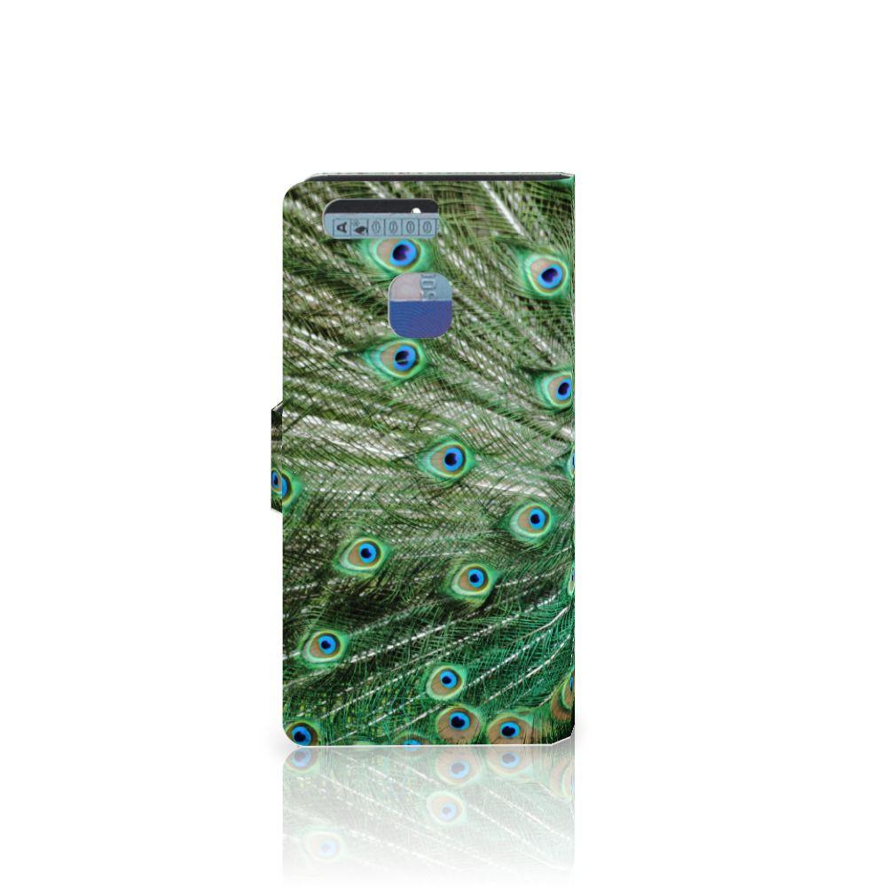 Huawei P9 Telefoonhoesje met Pasjes Pauw