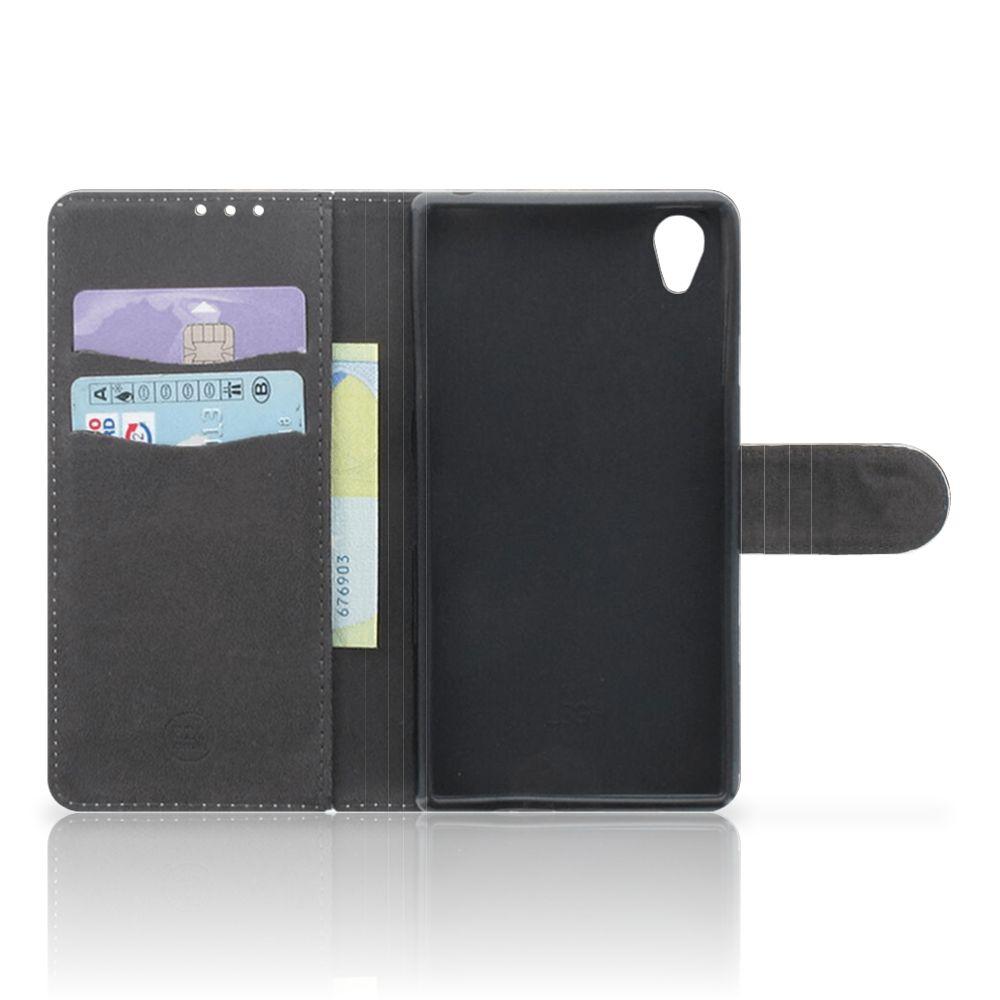 Telefoonhoesje met Pasjes Sony Xperia Z1 Britse Korthaar