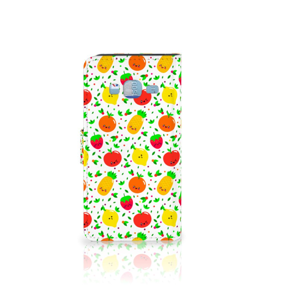 Samsung Galaxy J3 2016 Book Cover Fruits