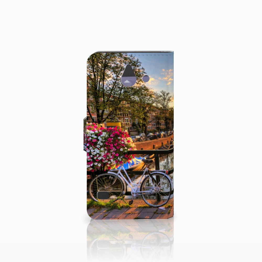 Huawei Ascend Y550 Flip Cover Amsterdamse Grachten