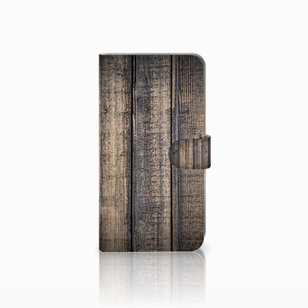 Huawei Mate 9 Boekhoesje Design Steigerhout