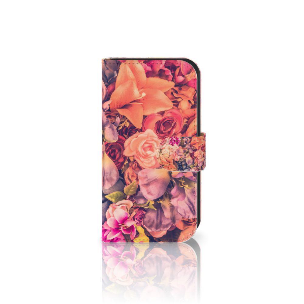 Samsung Galaxy Ace 4 4G (G357-FZ) Boekhoesje Design Bosje Bloemen
