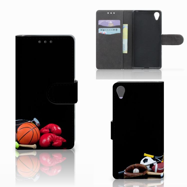 Sony Xperia X Wallet Case met Pasjes Sports