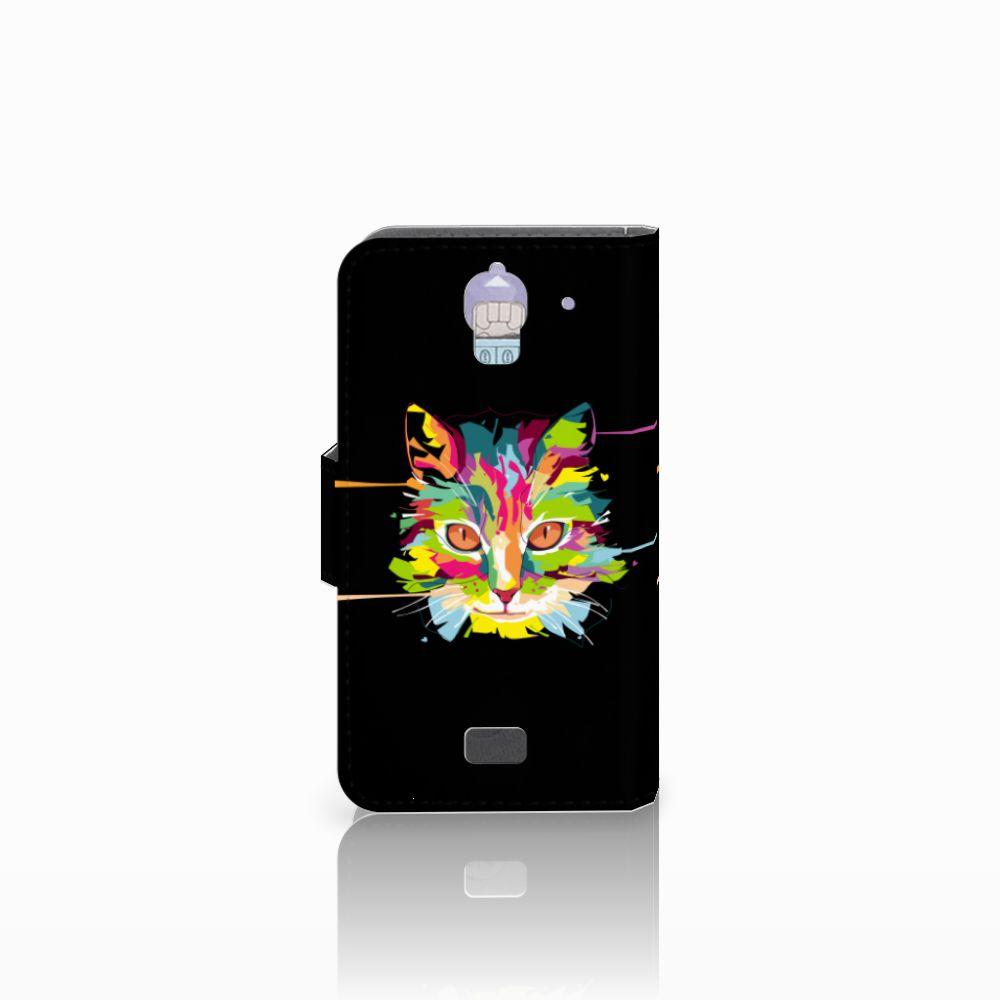 Huawei Y360 Leuke Hoesje Cat Color