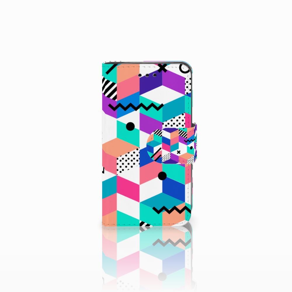 Samsung Galaxy Trend 2 Boekhoesje Design Blocks Colorful