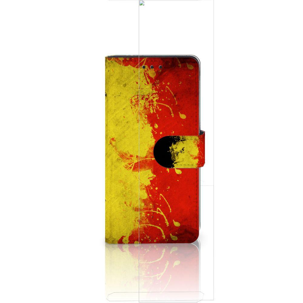 Huawei Ascend P8 Lite Boekhoesje Design Belgische Vlag