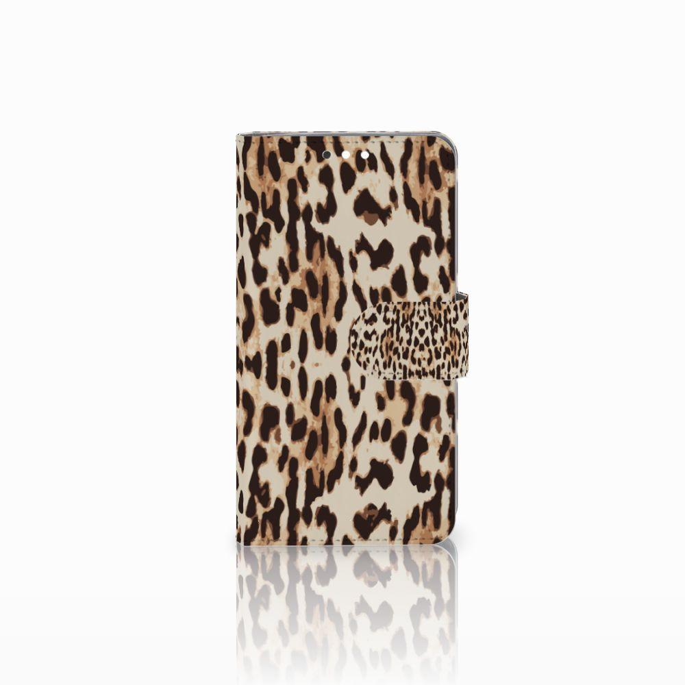 Nokia 8 Sirocco | Nokia 9 Uniek Boekhoesje Leopard