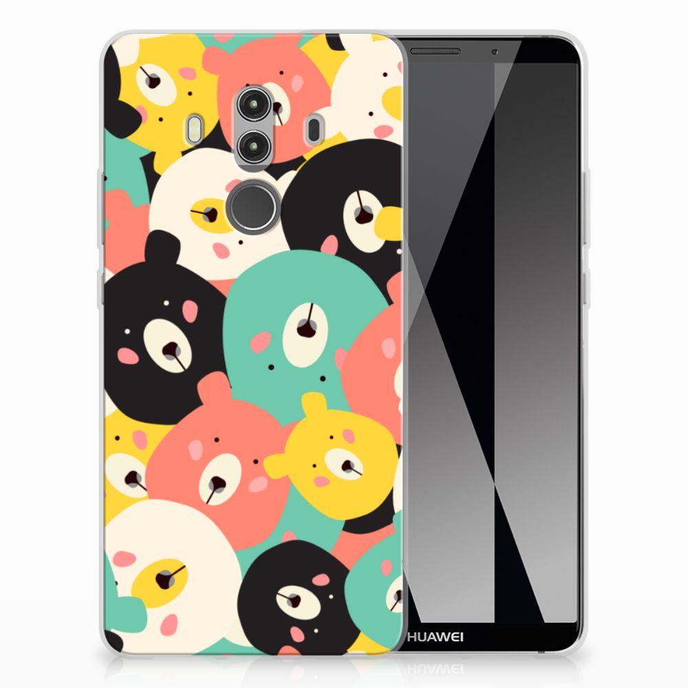 Huawei Mate 10 Pro Uniek TPU Hoesje Bears