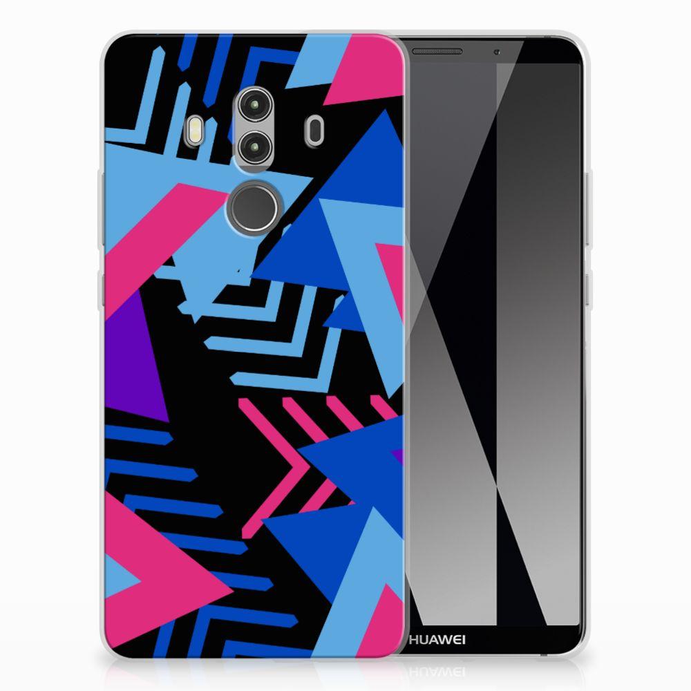Huawei Mate 10 Pro TPU Hoesje Funky Triangle