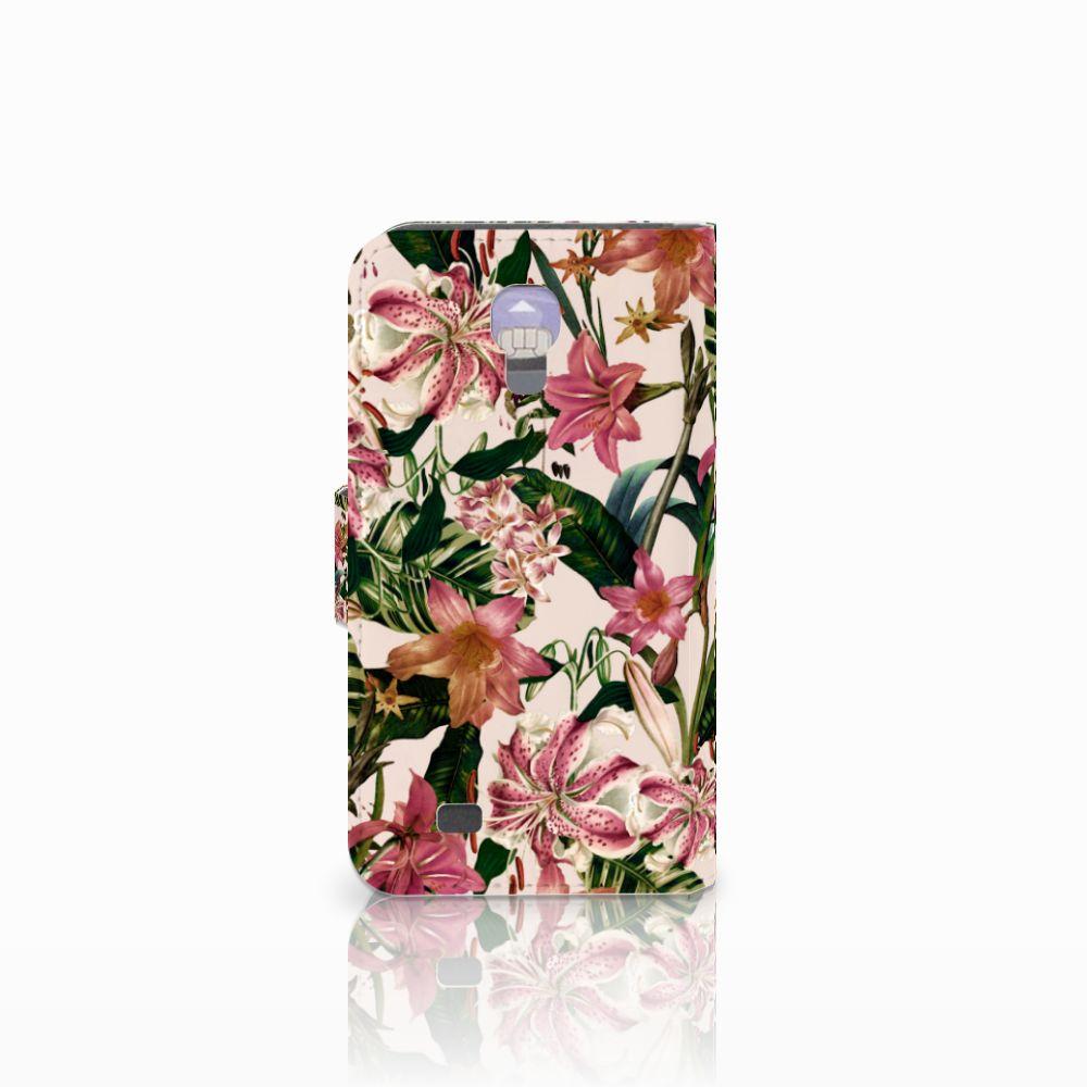 Samsung Galaxy S4 Hoesje Flowers