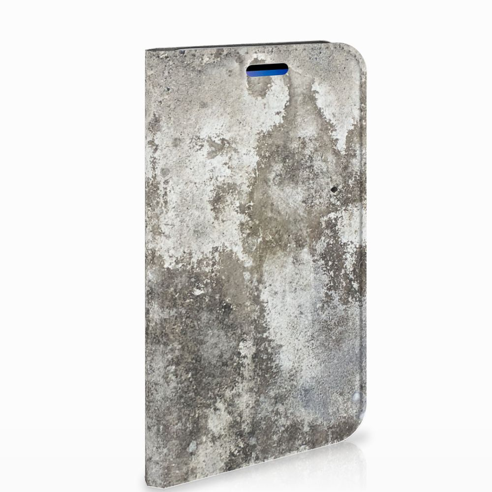 Apple iPhone X | Xs Standcase Hoesje Design Beton
