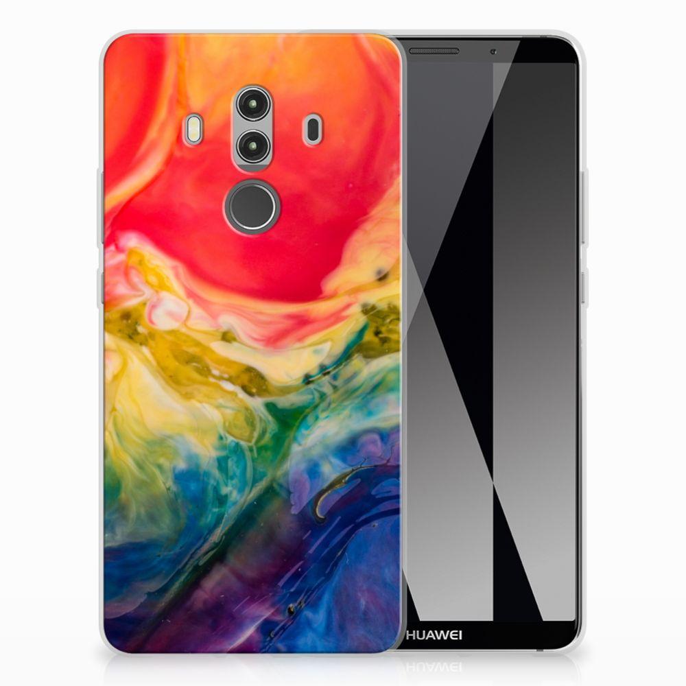 Hoesje maken Huawei Mate 10 Pro Watercolor Dark
