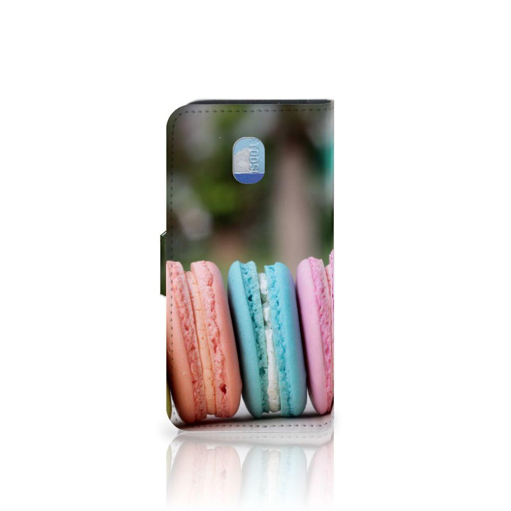 Samsung Galaxy J3 (2018) Book Cover Macarons