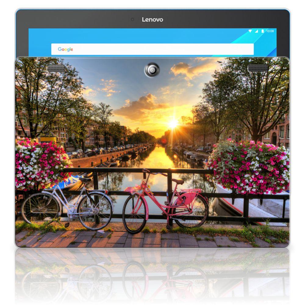 Lenovo Tab 10   Tab 2 A10-30 Uniek Tablethoesje Amsterdamse Grachten
