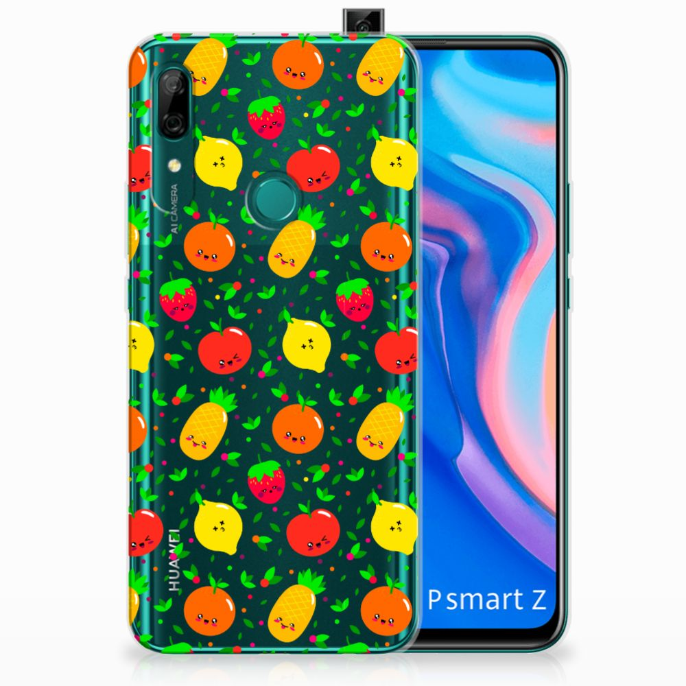 Huawei P Smart Z Siliconen Case Fruits