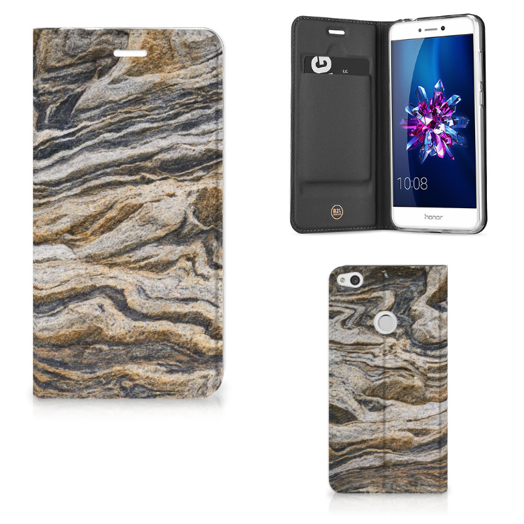 Huawei P8 Lite 2017 Standcase Steen