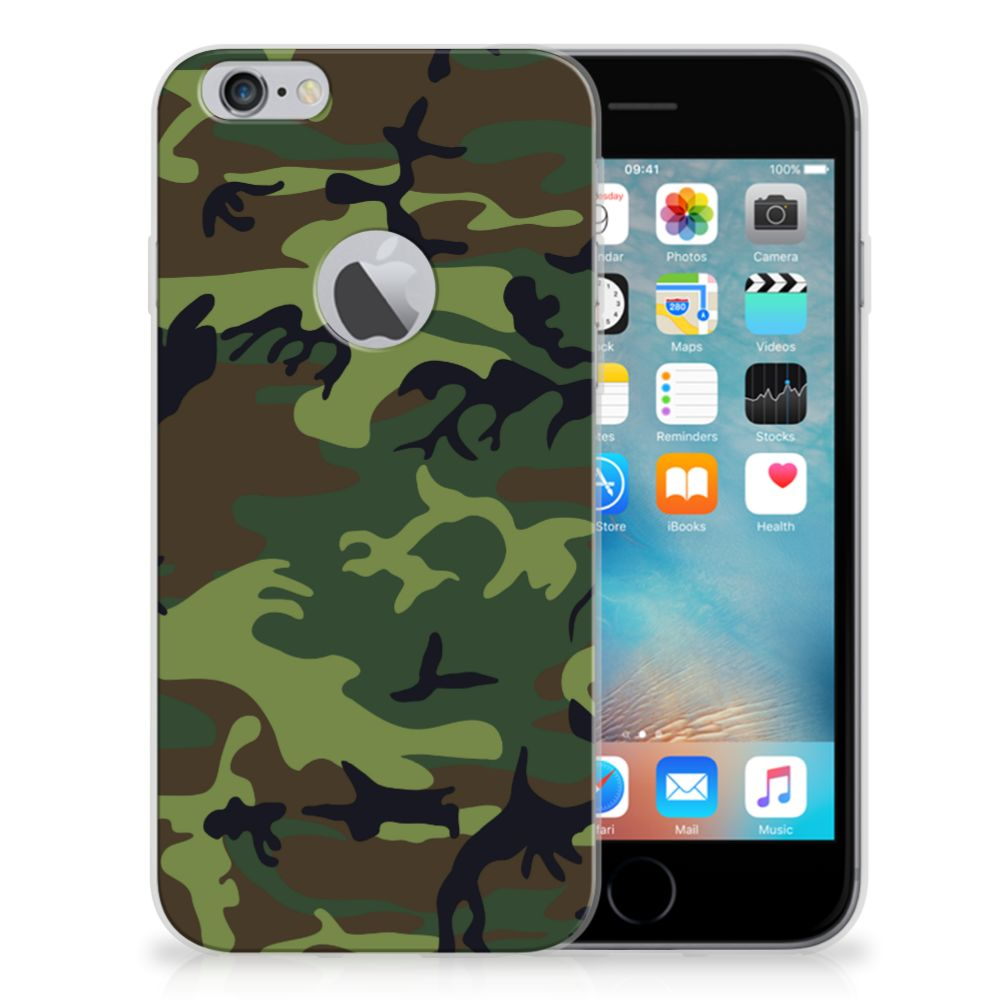 Apple iPhone 6 Plus | 6s Plus TPU bumper Army Dark