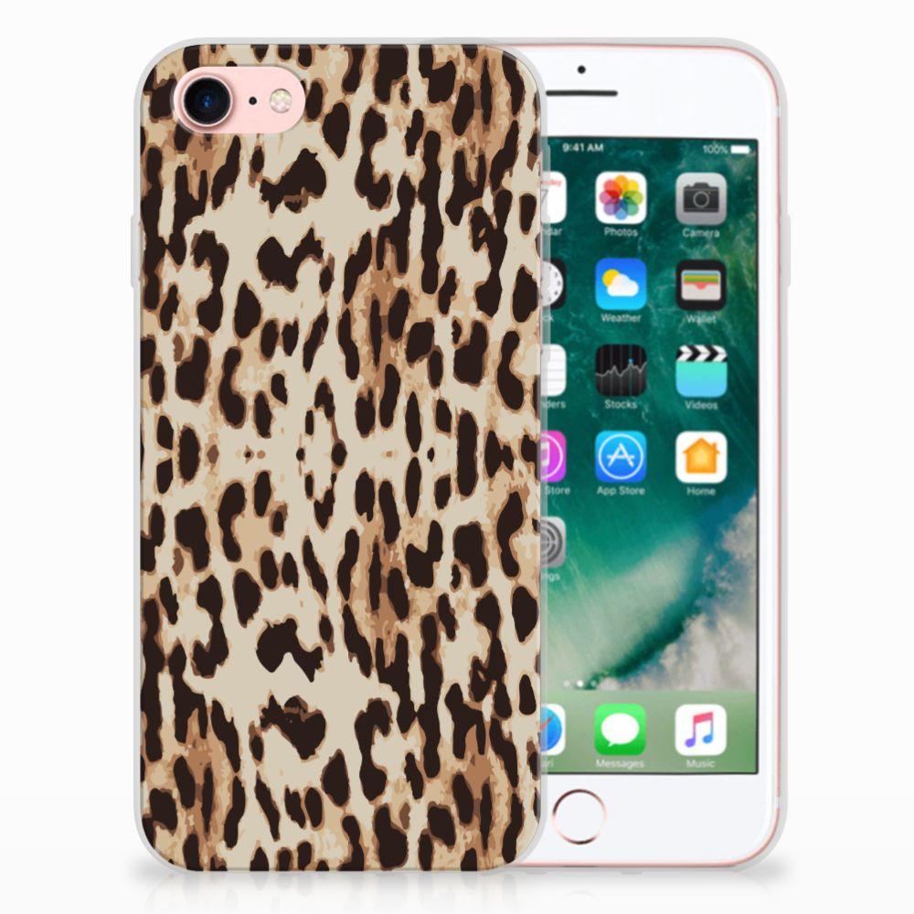 Apple iPhone 7 | 8 Uniek TPU Hoesje Leopard