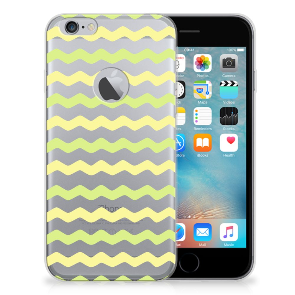Apple iPhone 6 Plus | 6s Plus TPU bumper Waves Yellow
